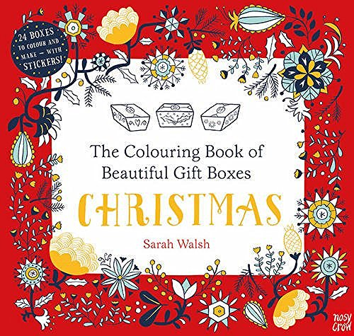 Colouring Book of Beautiful Gift Boxes: Christmas - Story Snug
