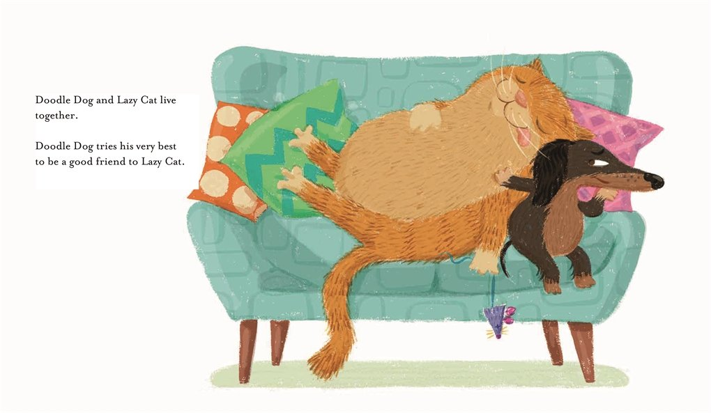 Lazy Cat and Doodle Dog - Story Snug