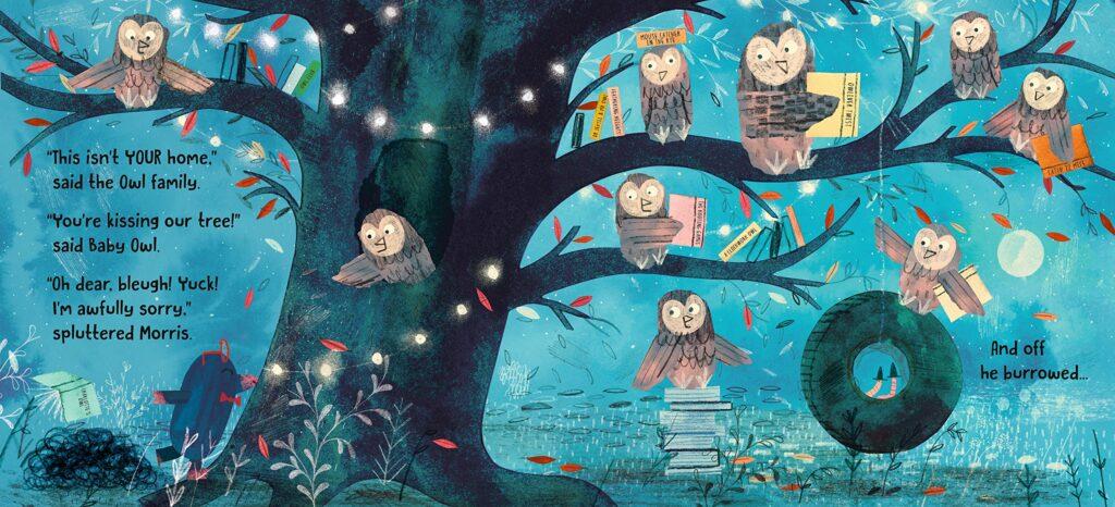 MRS MOLE, I'M HOME owls - Story Snug