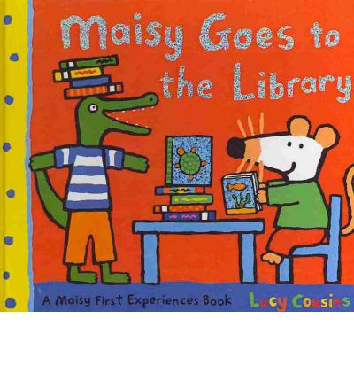 Maisy Goes to the Library by Lucy Cousins - Story Snug