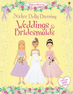 Sticker Dolly Dressing Weddings & Bridesmaids - Story Snug