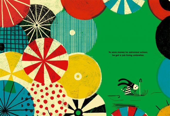 Toto selling umbrellas - Story Snug