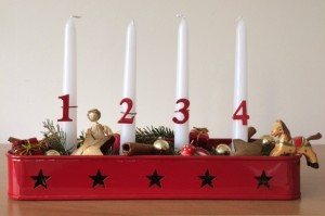 Advent Candles - Story Snug Advent Calendar