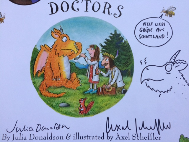 Autographed Zog - Story Snug