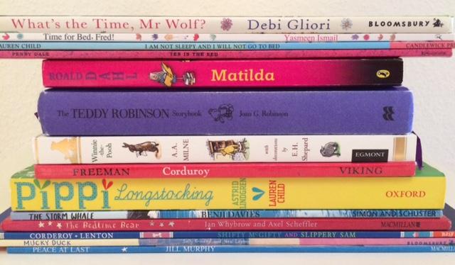 Bedtime Book Spine - Story Snug