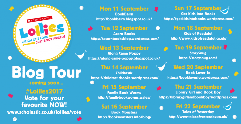 Lollies blogtour banner - Story Snug