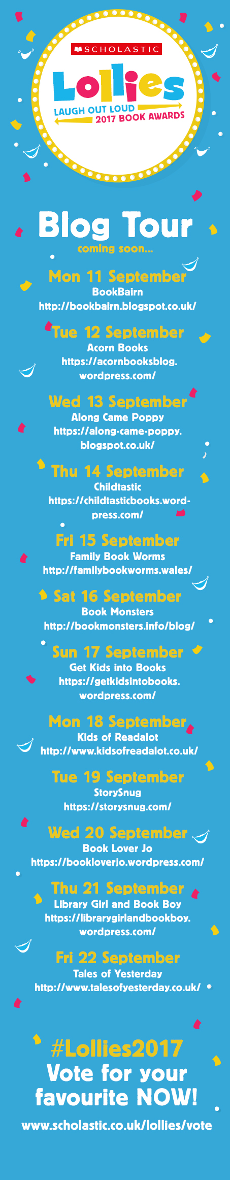 Lollies blog tour banner - Story Snug