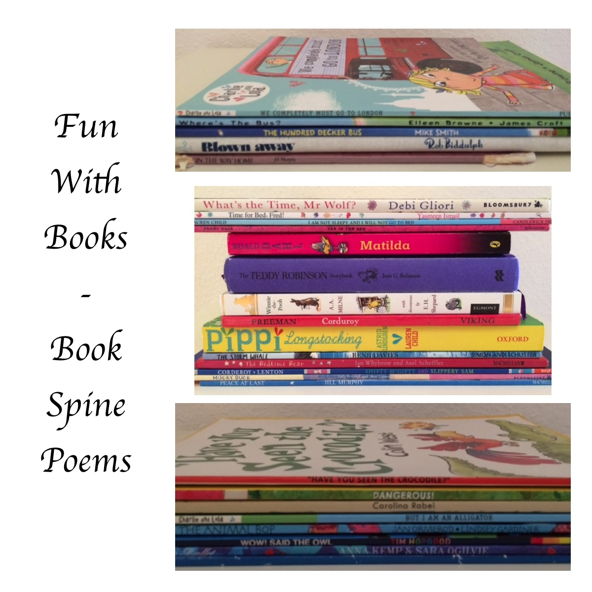 Book Spine Poems - Story Snug