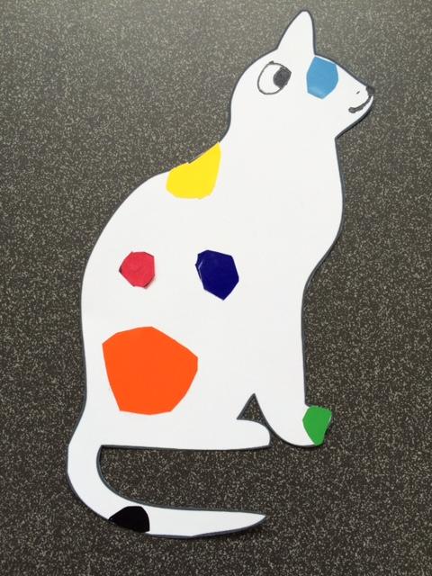 Cat's Colours craft - Story Snug