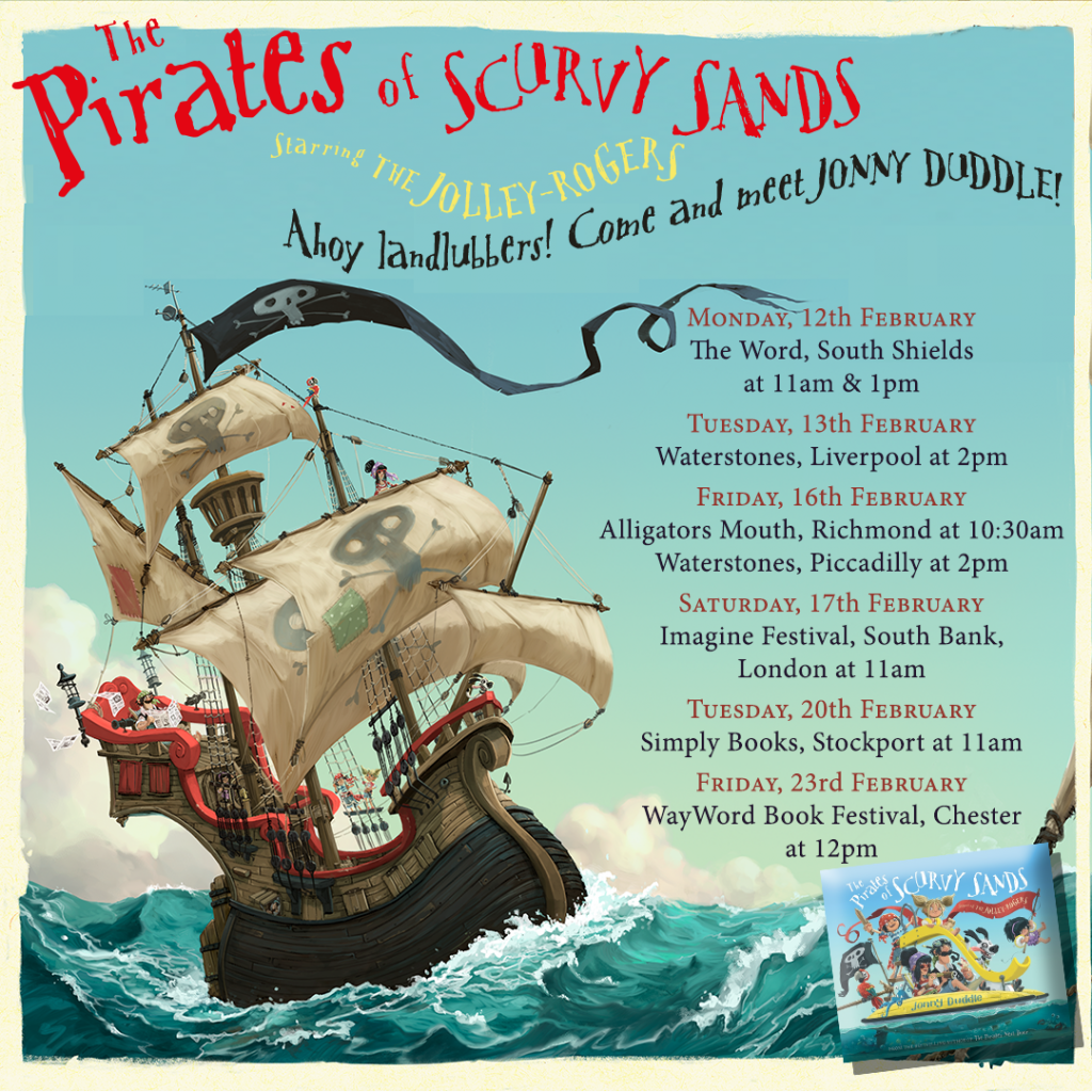 The Pirates of Scurvy Sands tour - Story Snug