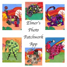Elmer's Photo Patchwork App Elmer featured image http://storysnug.com #MyElmer