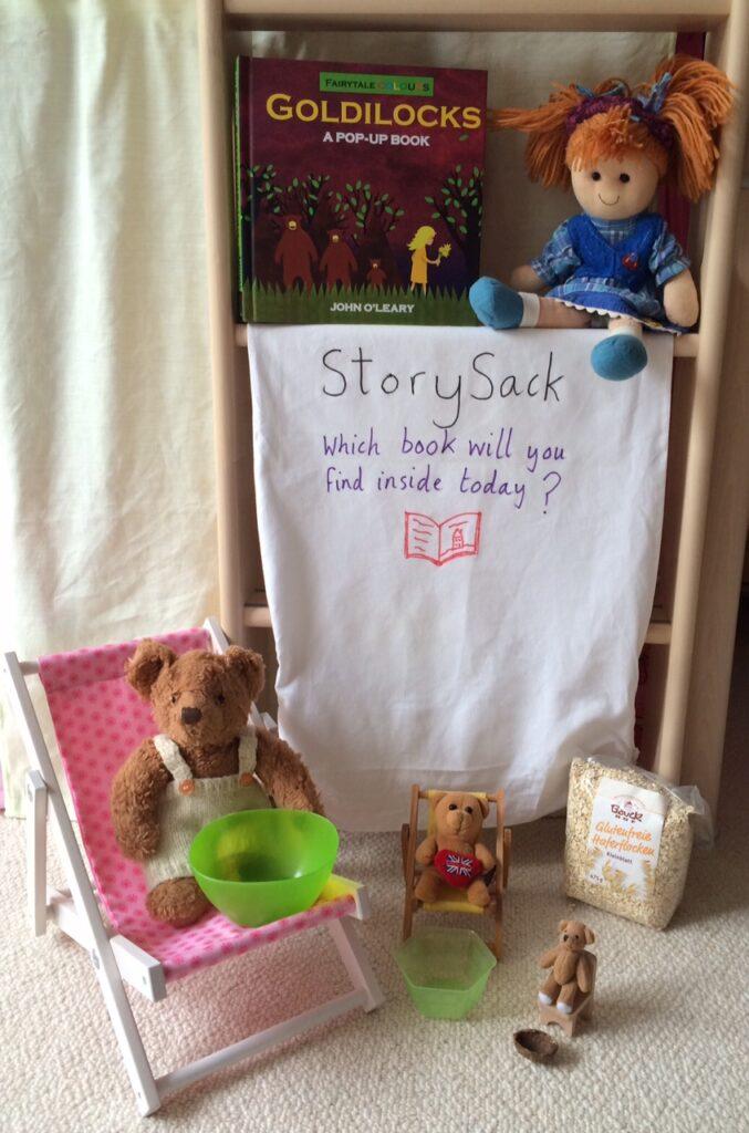 Goldilocks storysack - Story Snug