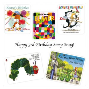 Happy 3rd Birthday Story Snug