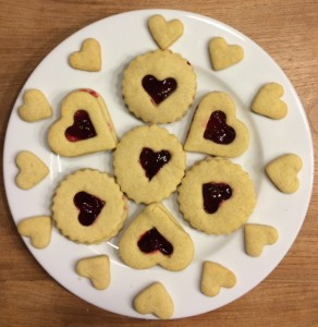 Heart biscuits Story Snug