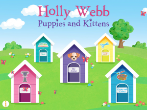 Holly Webb Puppies and Kittens App - Story Snug