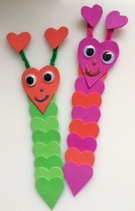 Hungry Caterpillar bookmarks - Story Snug