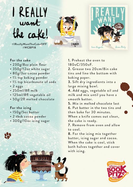 I REALLY WANT the cake recipe - Story Snug