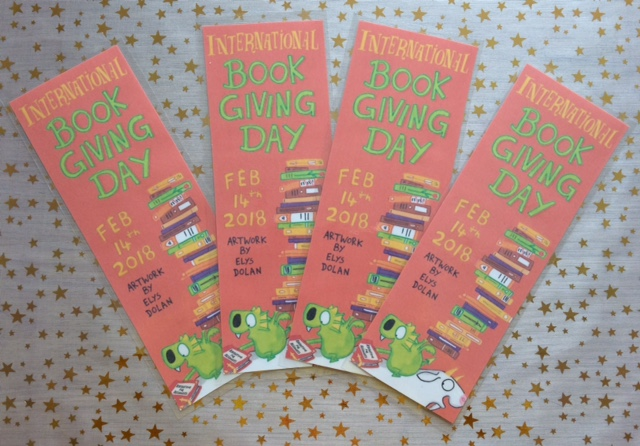 International Book Giving Day Bookmarks