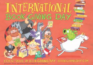International Book Giving Day Poster 2018 - Story Snug