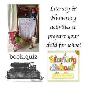 Preparing Your Child For School - Literacy & Numeracy Activities Story Snug http://storysnug.com