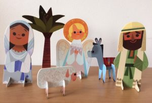 Make & Play Nativity Figures - Story Snug