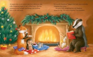 One Cosy Christmas fireside - Story Snug