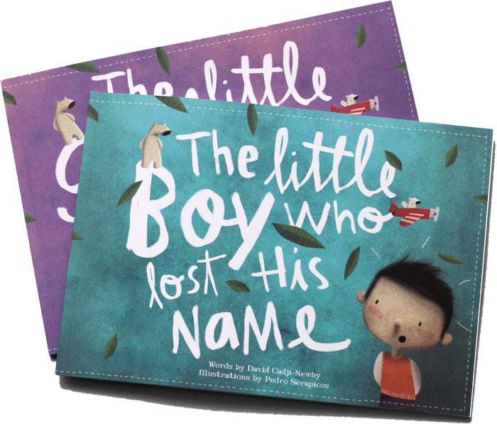 lost my name personalised books story snug