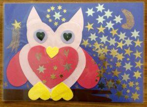 Owl placemat - Story Snug