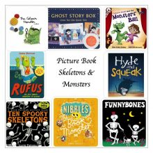 Picture Book Skeletons and Monsters - Story Snug