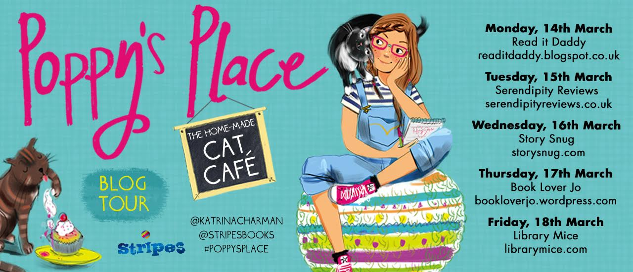Katrina Charman Poppy's Place blog tour - Story Snug