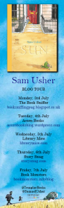 Sam Usher blog tour banner - Story Snug
