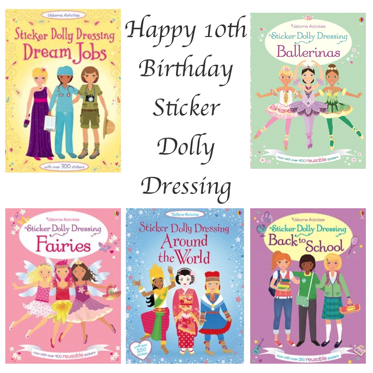 Sticker Dolly Dressing - Story Snug