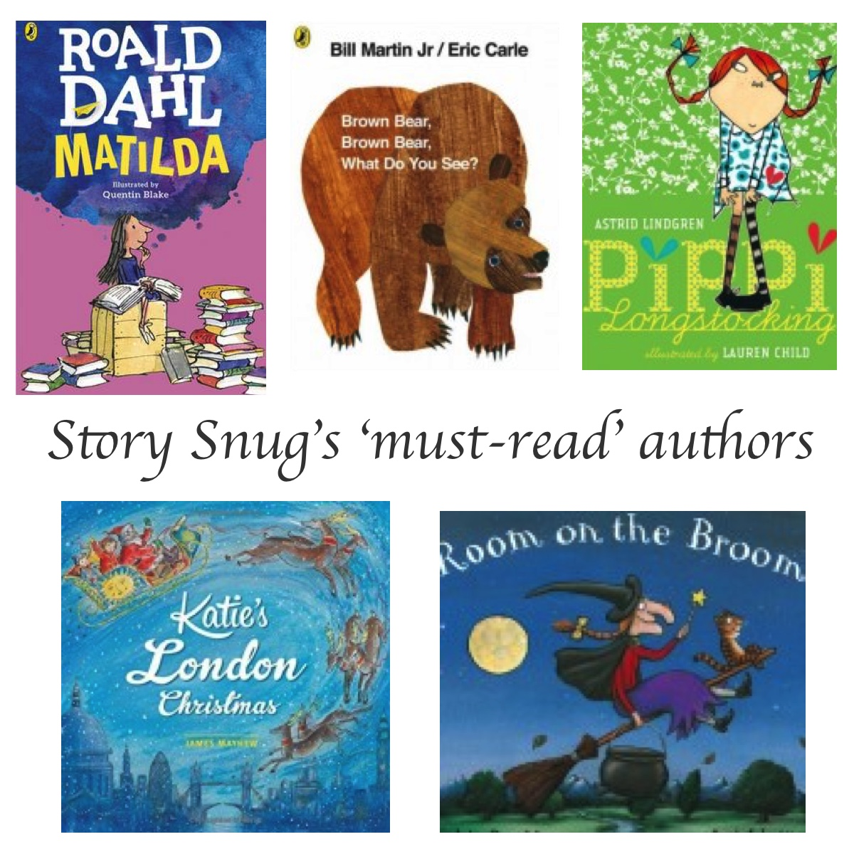 Must-Read authors - Story Snug