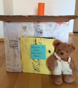 The Teddy Robinson Storybook Teddy Robinson's House http://storysnug.com #classicschallenge