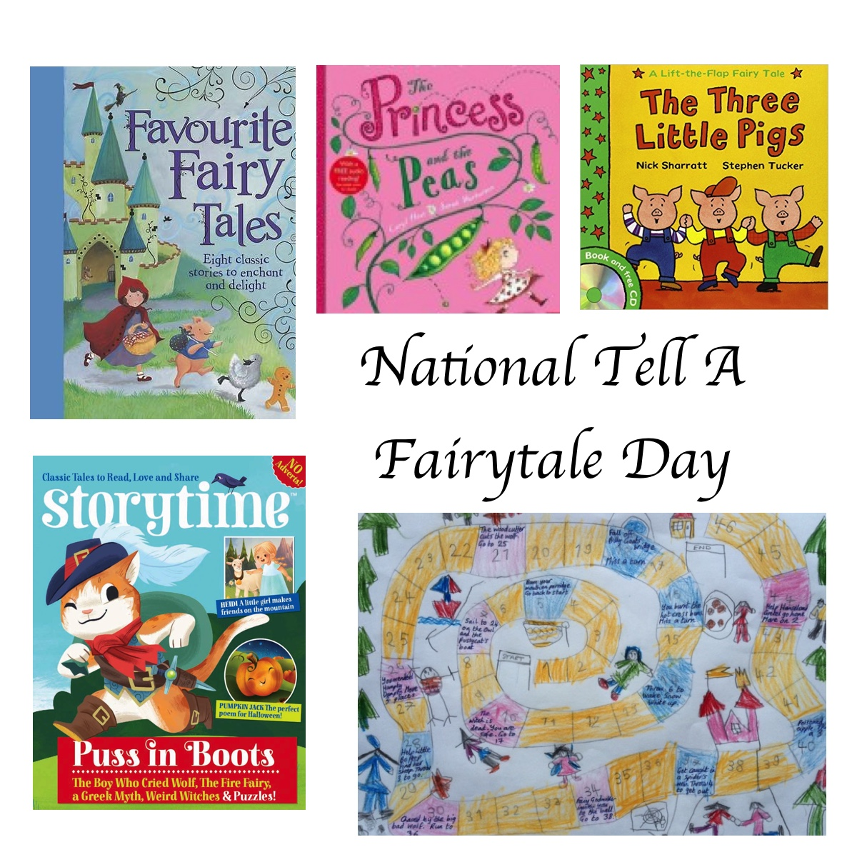 Tell A Fairytale Day - Story Snug