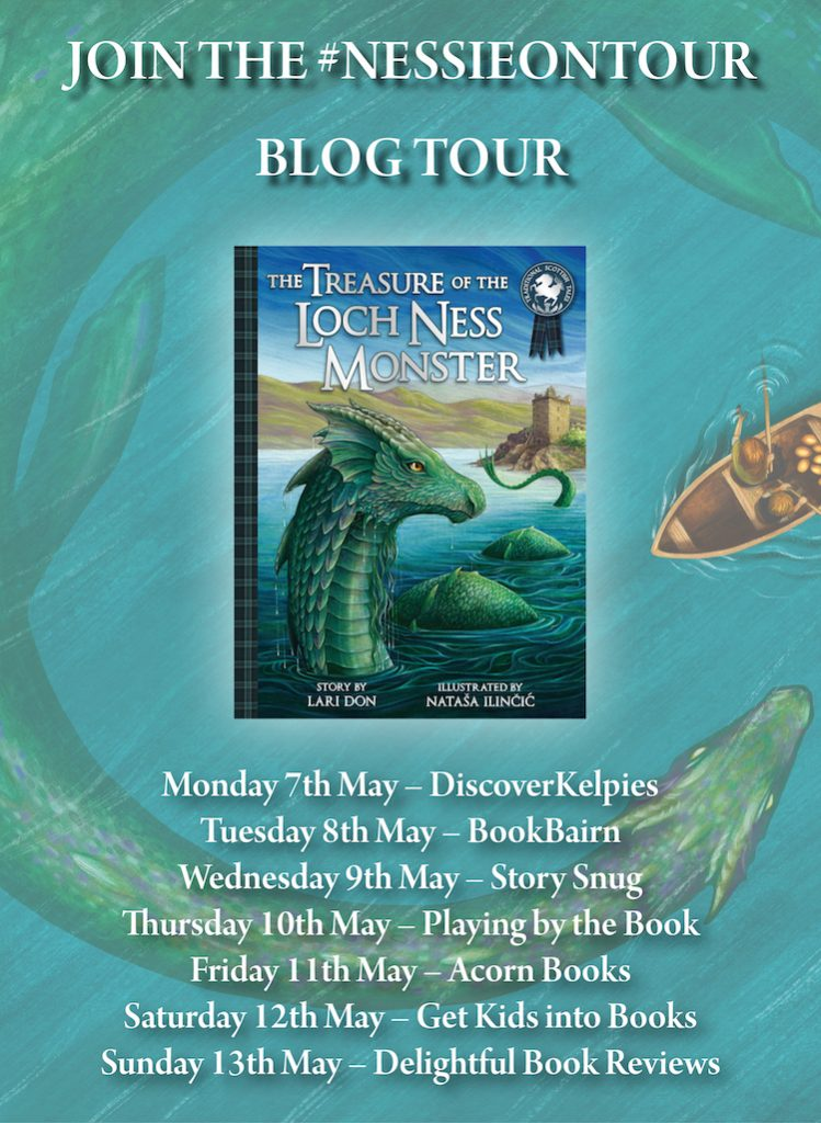 The Treasure of The Loch Ness Monster Blog Banner - Story Snug
