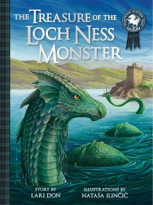 Treasure Of The Loch Ness Monster book cover - Story Snug