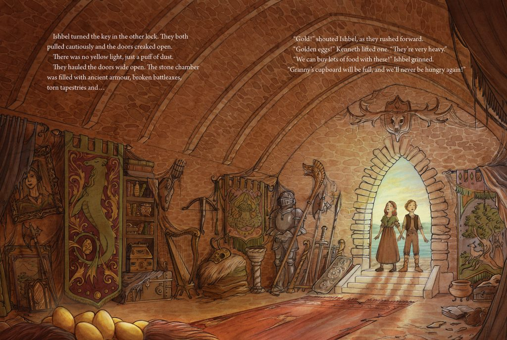 Under the castle - Treasure Of The Loch Ness Monster - Story Snug