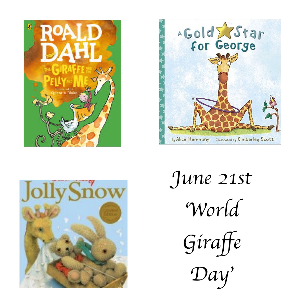 World Giraffe Day - Story Snug