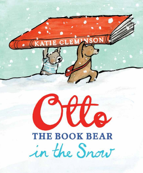Otto THE BOOK BEAR in the Snow - StorySnug