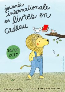 International Book Giving Day 2017 French poster