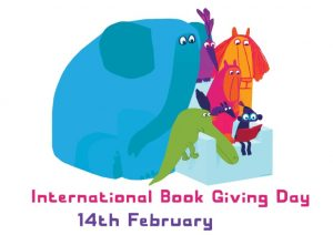 International Book Giving Day poster - Chris Haughton - Story Snug