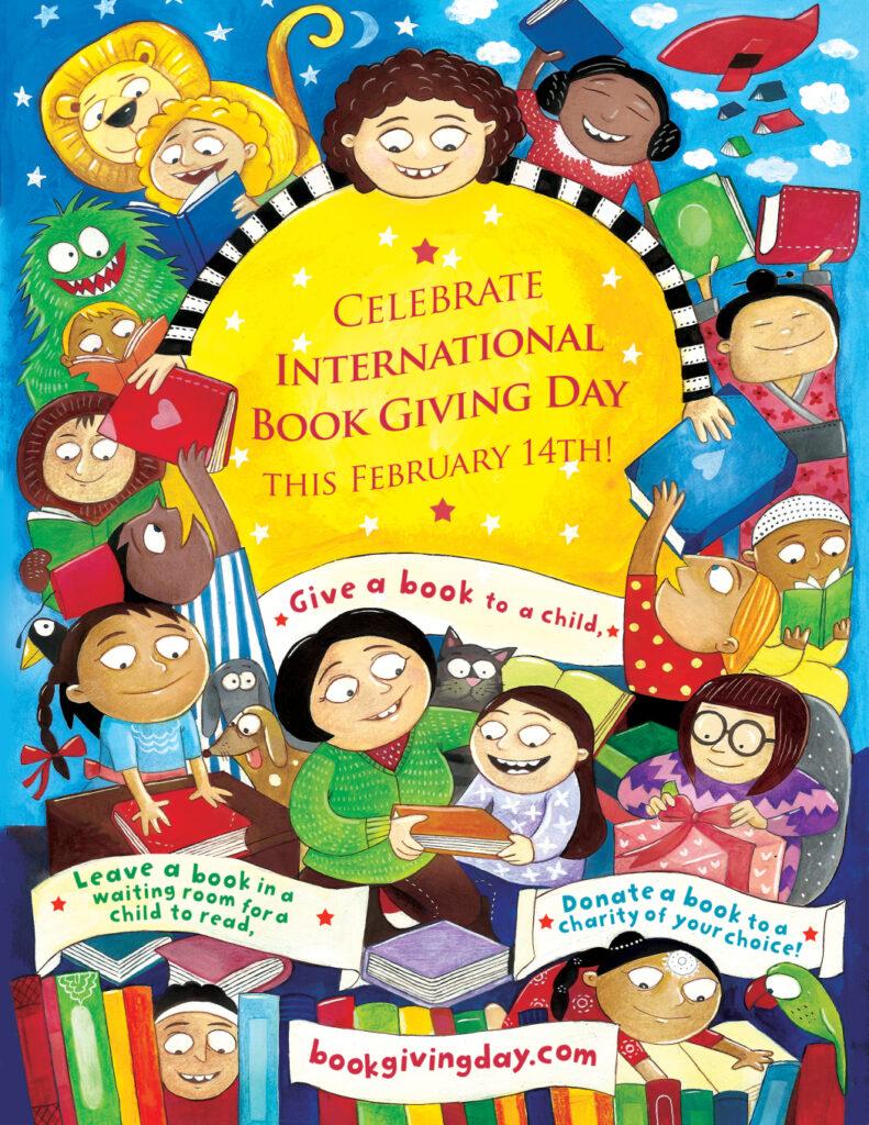 International Book Giving Day 2019 -  Priya Kuriyan poster - Story Snug